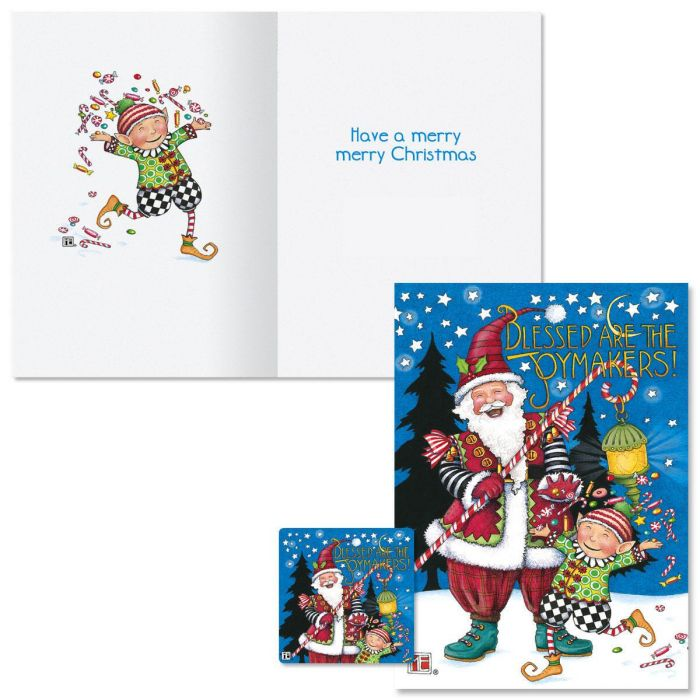 Joymakers Christmas Cards  Nonpersonalized