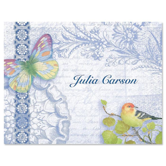 Exotic Prints Custom Note Cards - Set of 12