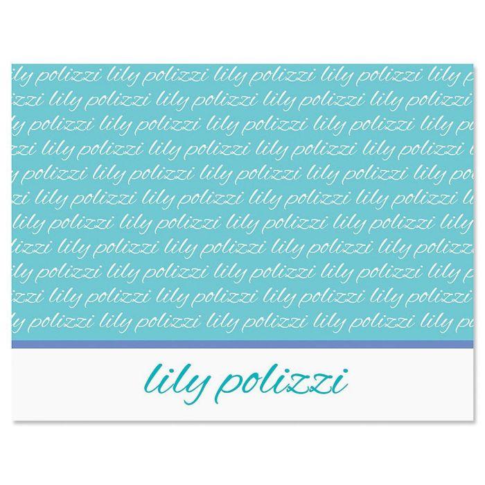 Signature Custom Note Cards