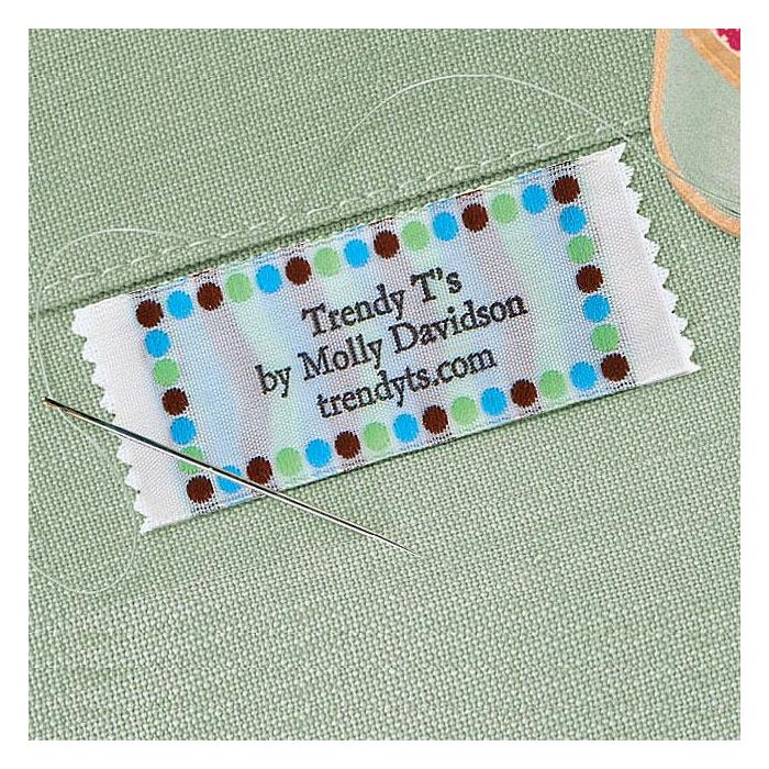 Trendy Dots Personalized Sewing Label