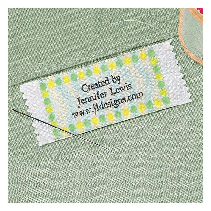 Pastel Dots Personalized Sewing Label