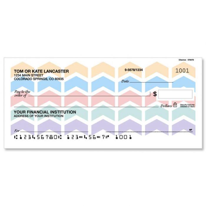 Chevron Personal Checks