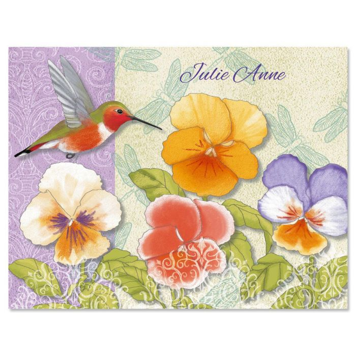 Belle Fleur Custom Note Cards