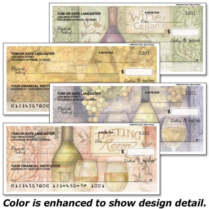 Wine Cellar Personal Checks