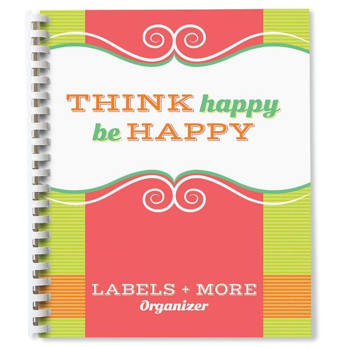 Think Happy Label Organizer