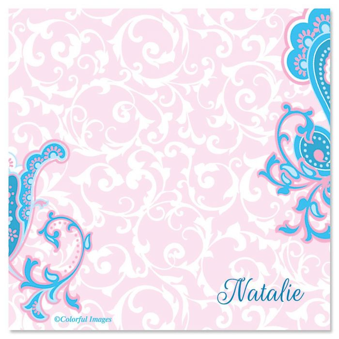 Tranquil Turquoise Note Cube -  Refill