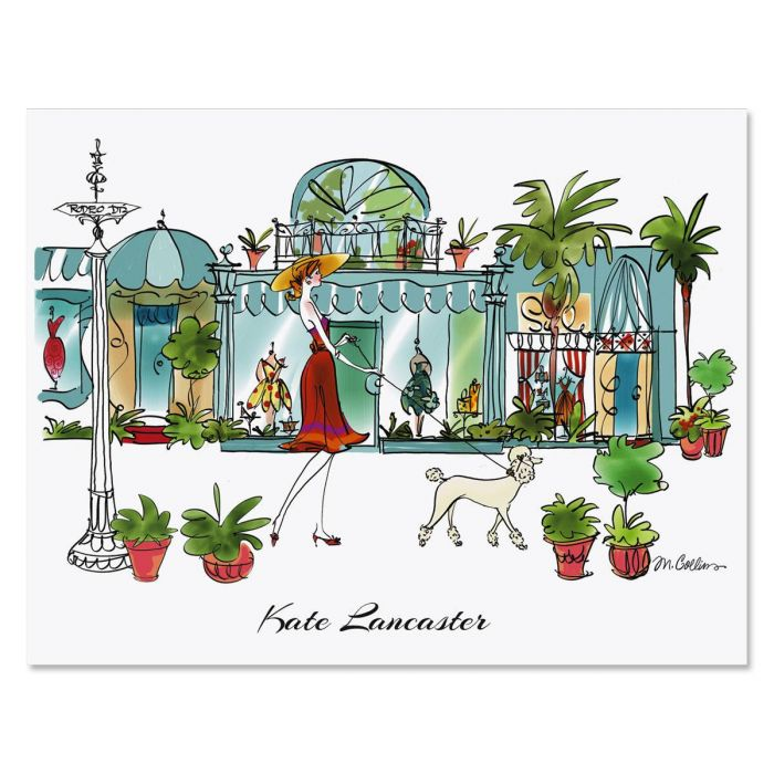 Rodeo Drive Custom Note Cards
