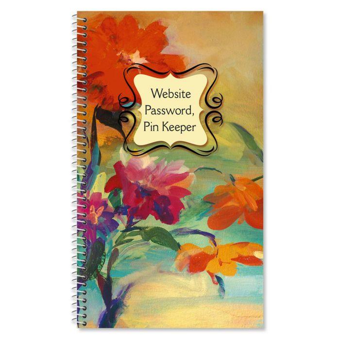 Spring Garden Internet Password Pin Keeper