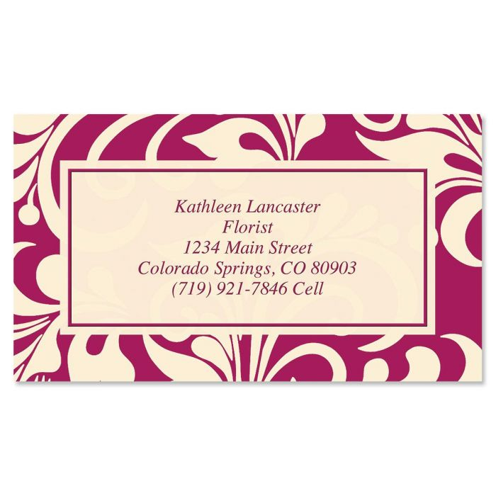 Glamorama Business Cards