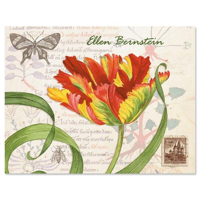 Tulips Custom Note Cards