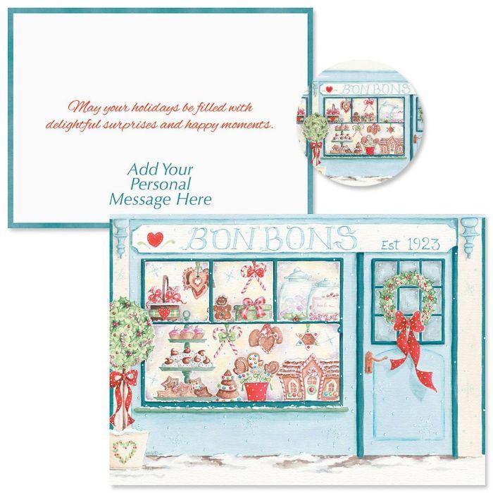 Holiday Window  Christmas Cards