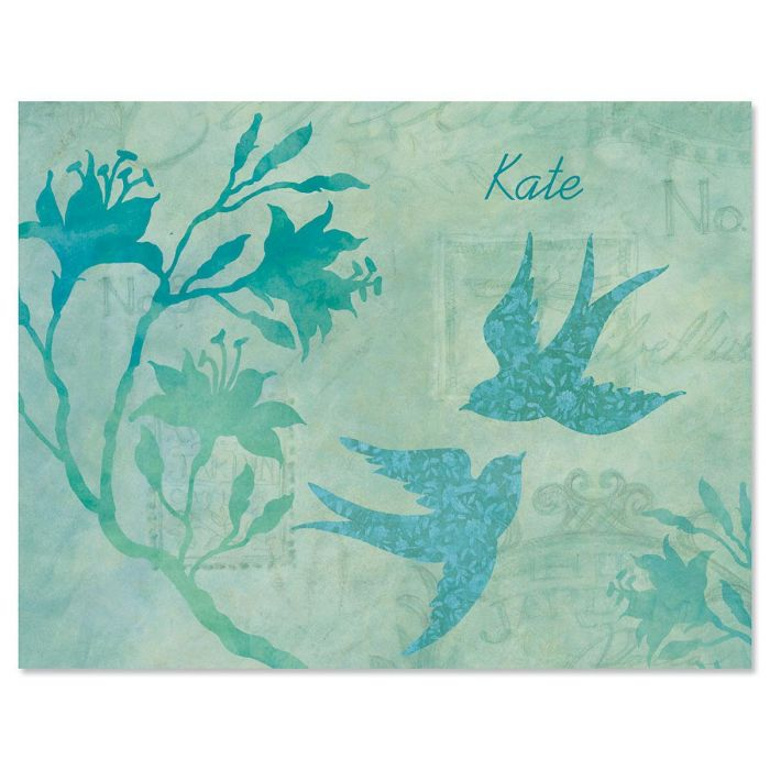 Nature Song Custom Note Cards