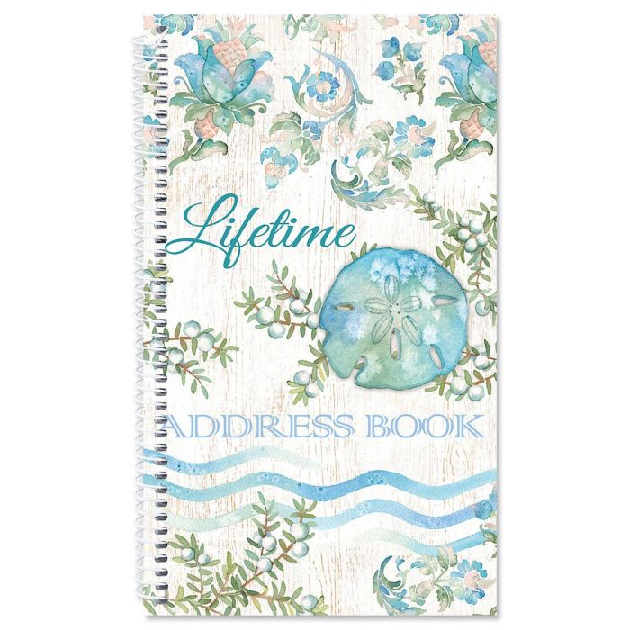 Ocean Tide Lifetime Address Book