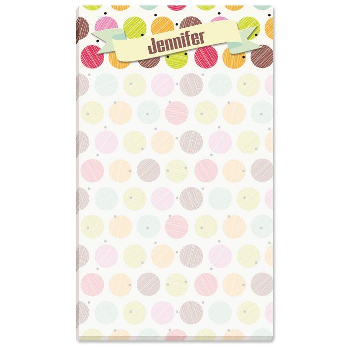 Doodle Dots Custom Memo Pads