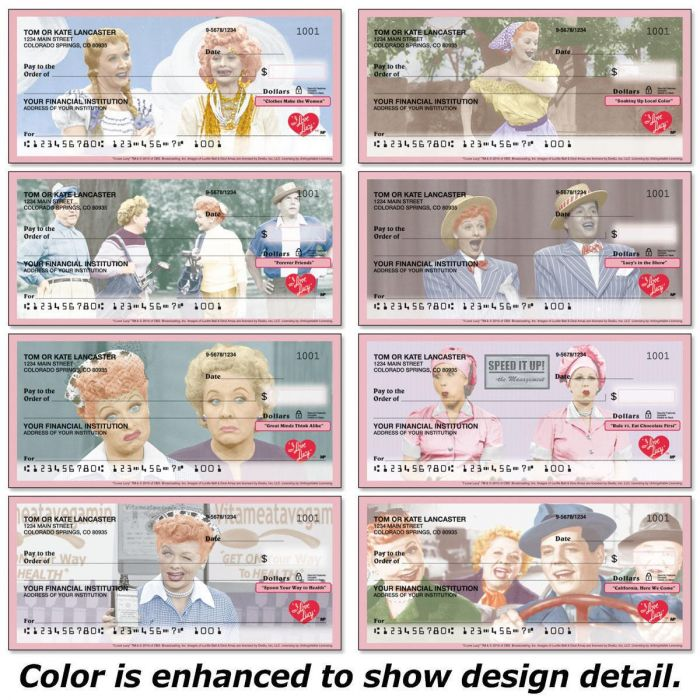I Love Lucy® Personal Checks