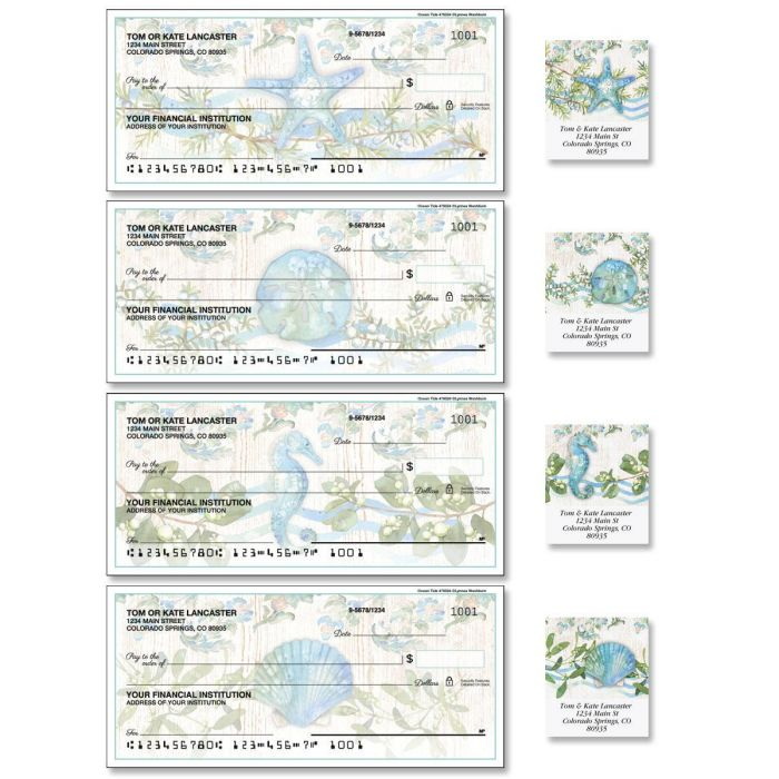 Ocean Tide Duplicate Checks with Matching Address Labels