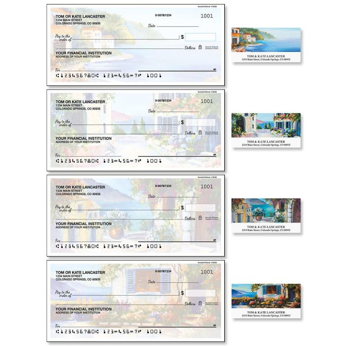 Seaside Retreat Duplicate Checks with Matching Address Labels