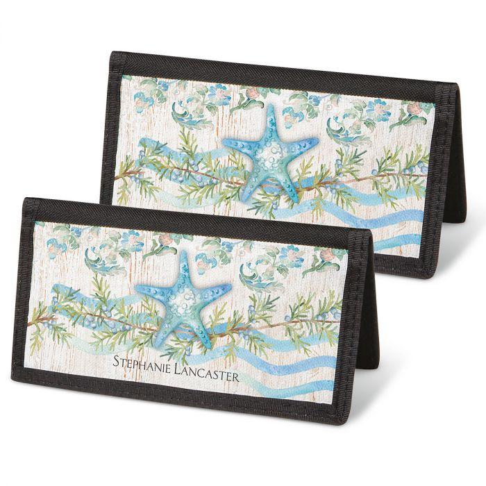 Ocean Tide Personal Checkbook Covers