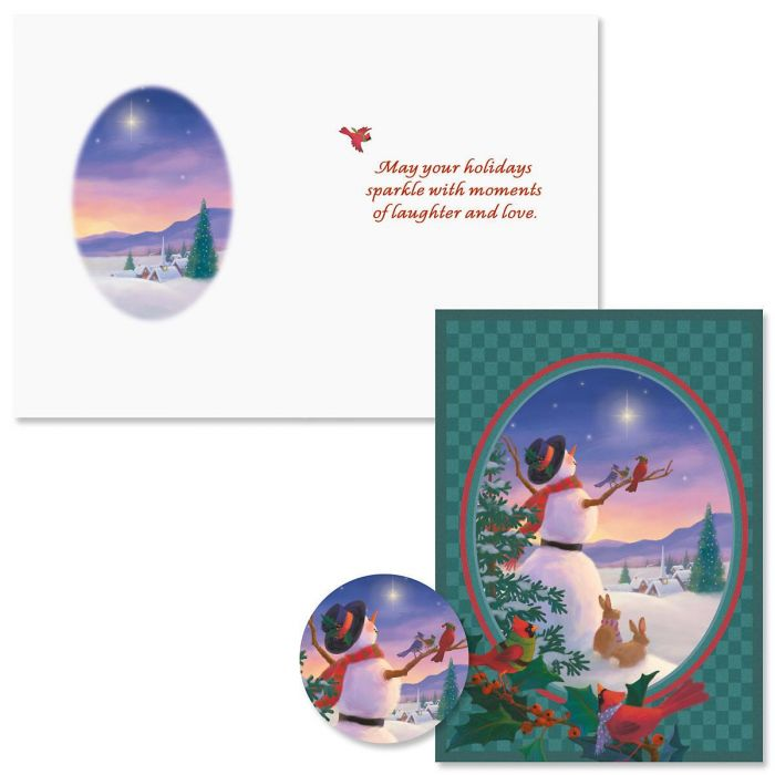 Star Light Christmas Cards - Nonpersonalized | Colorful Images