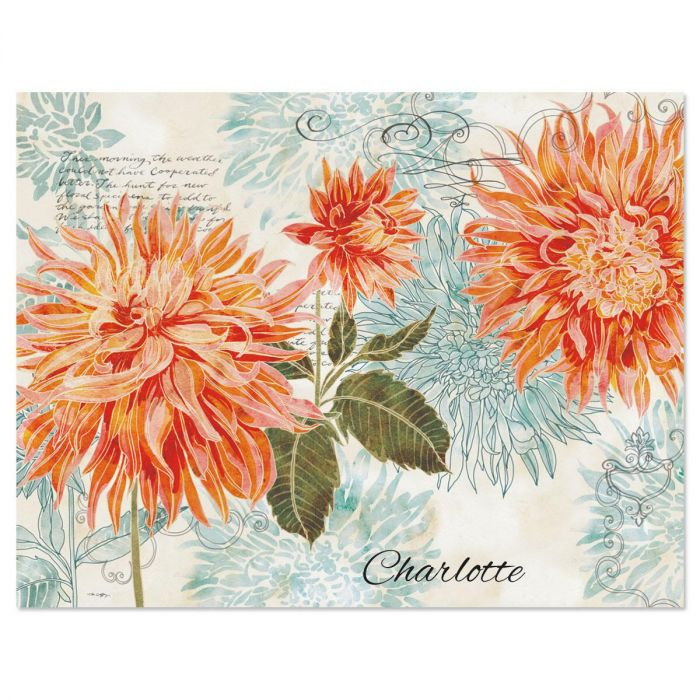 Floral Daydream Custom Note Cards