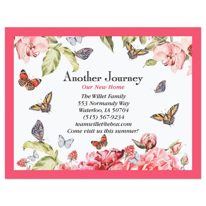 Another Journey New Address Postcards