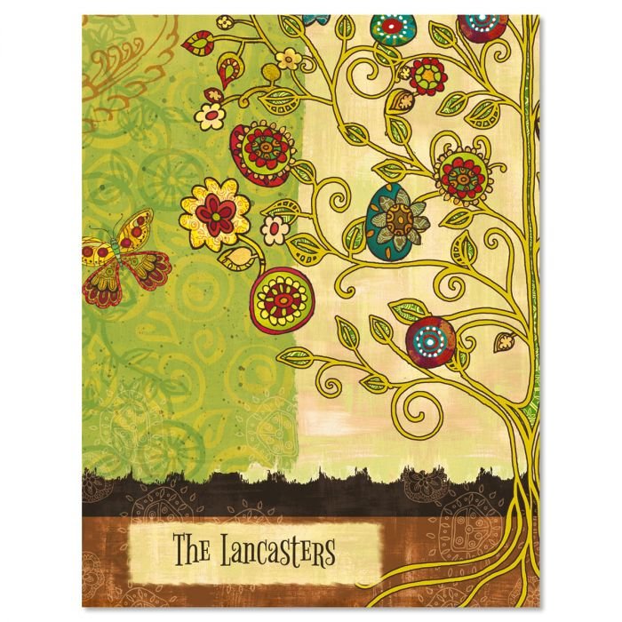 Gypsy Garden Custom Note Cards