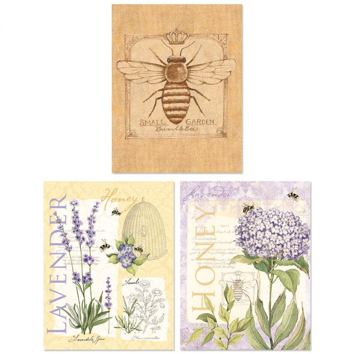 Lavender & Herbs Note Cards