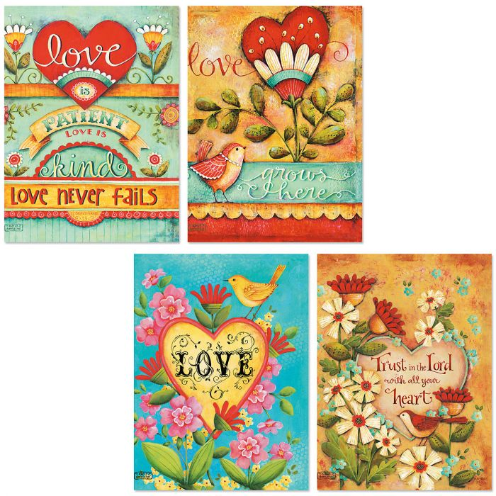 Love Grows Here Note Cards