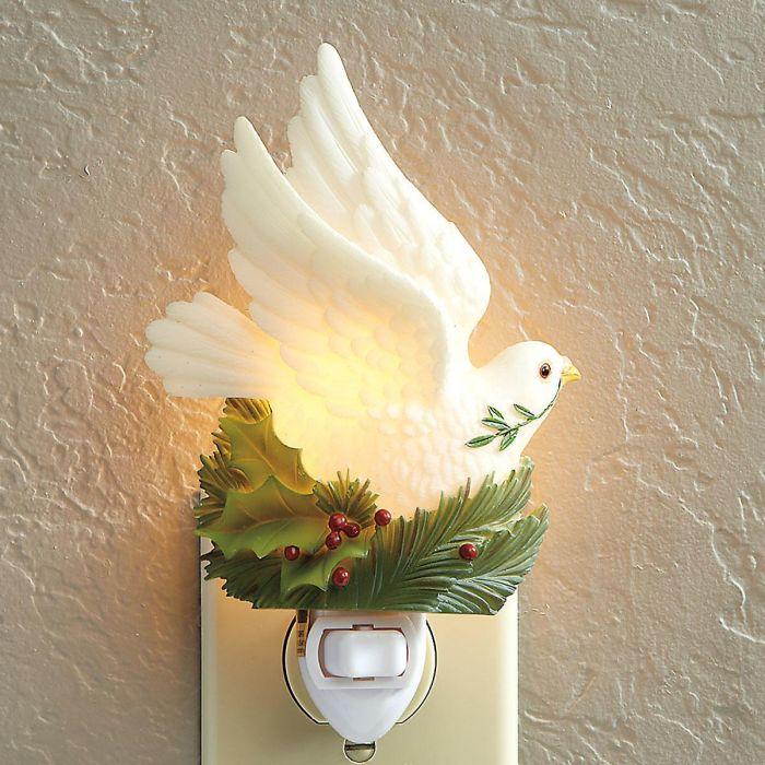 Peace Dove Night Light