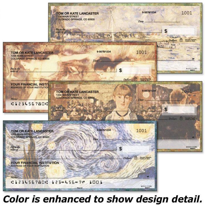 Fine Arts Personal Checks