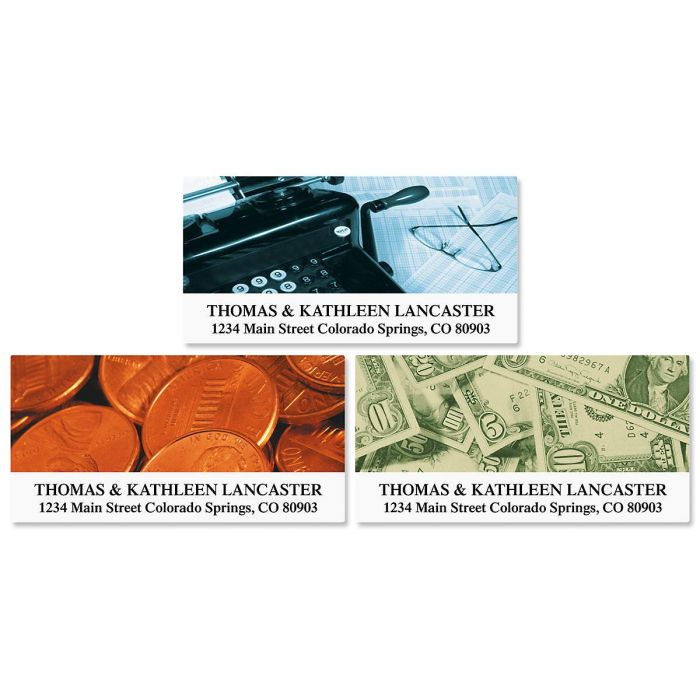 Accountant Deluxe Address Labels    (3 Designs)