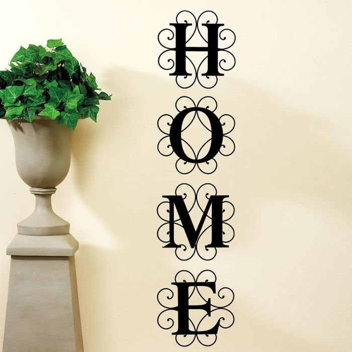 HOME Vinyl Wall Letters