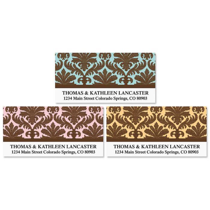 Damask Deluxe Address Labels  (3 designs)