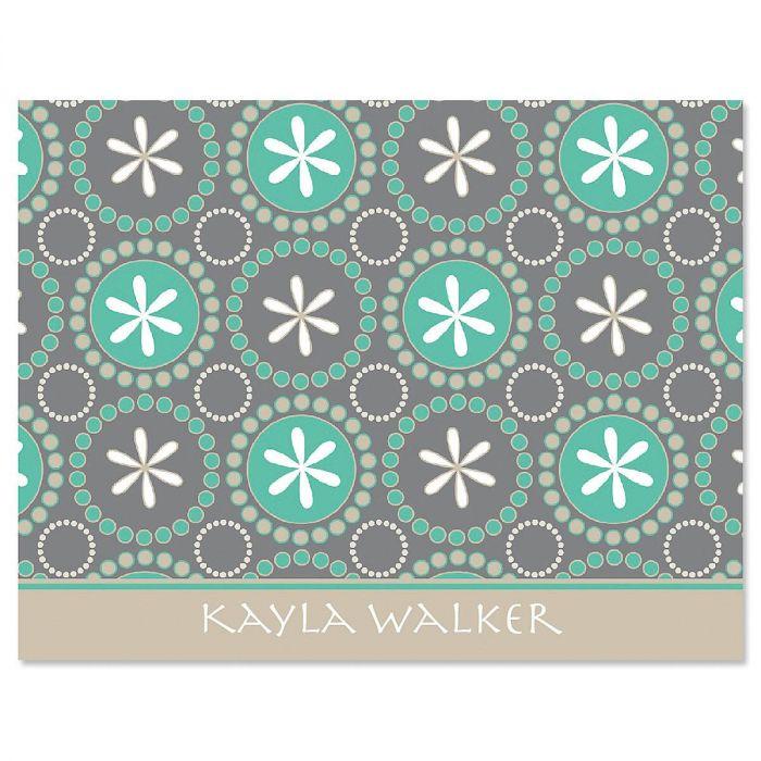 Hula Loop Note Cards - Set of 24