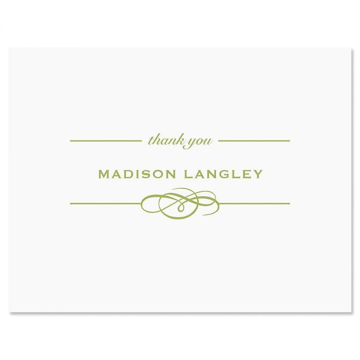 Distinction Custom Thank You Cards