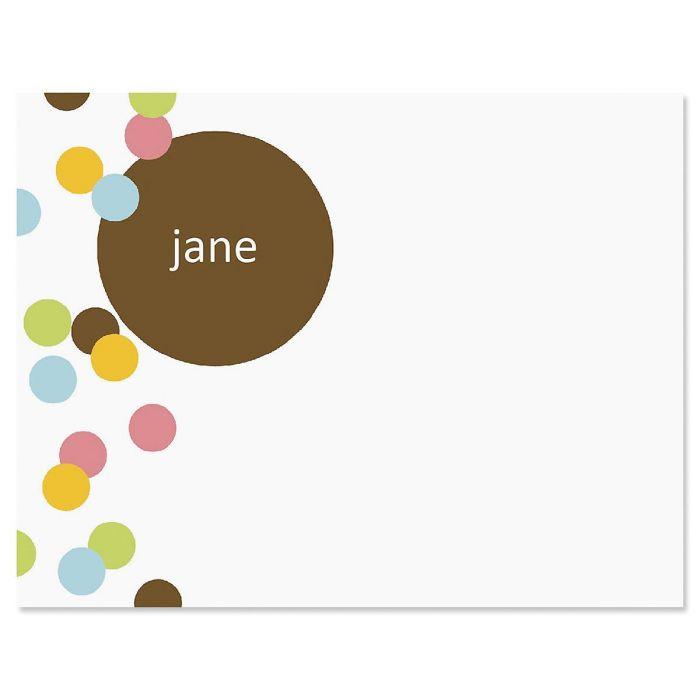 Confetti Note Cards