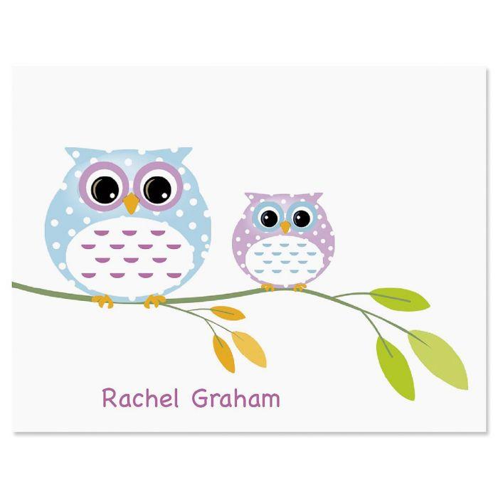 Owl Always Love You Custom Note Cards