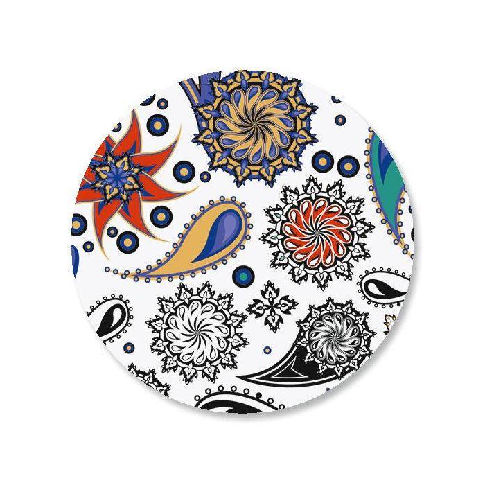 Color Paisley Envelope Seals