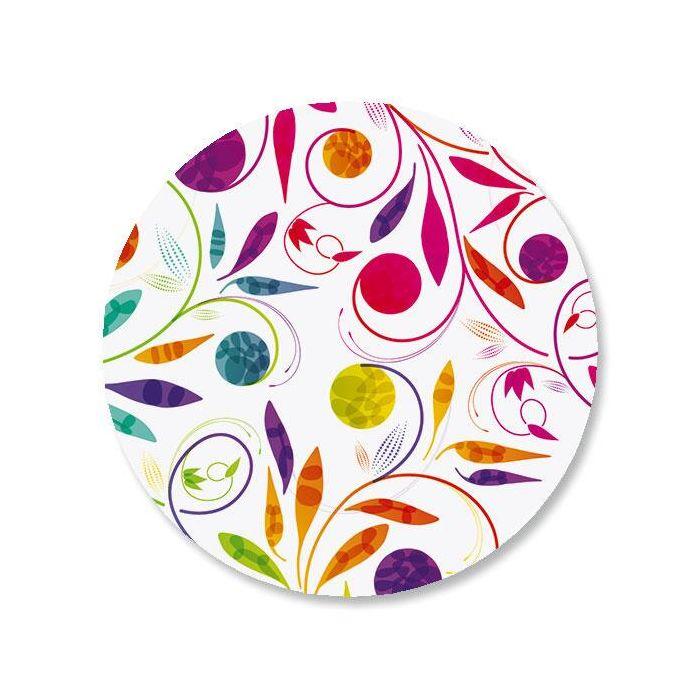 Color Swirl Envelope Seals