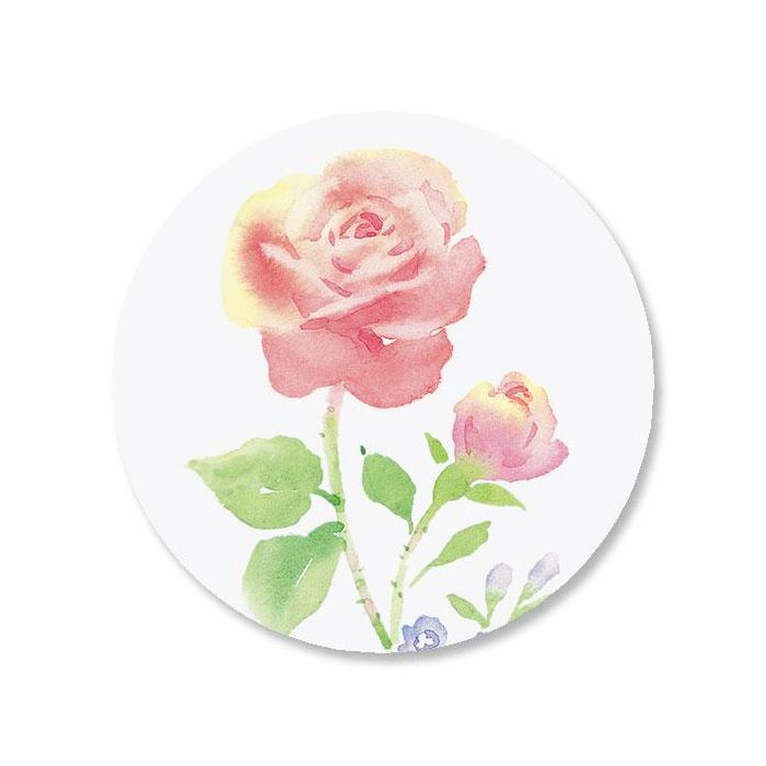 Rose Envelope Seals