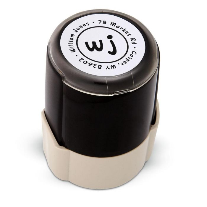 Duo Initials Self-Inking Stamper