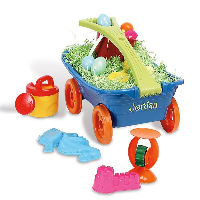 Personalized Plastic Wagon Set