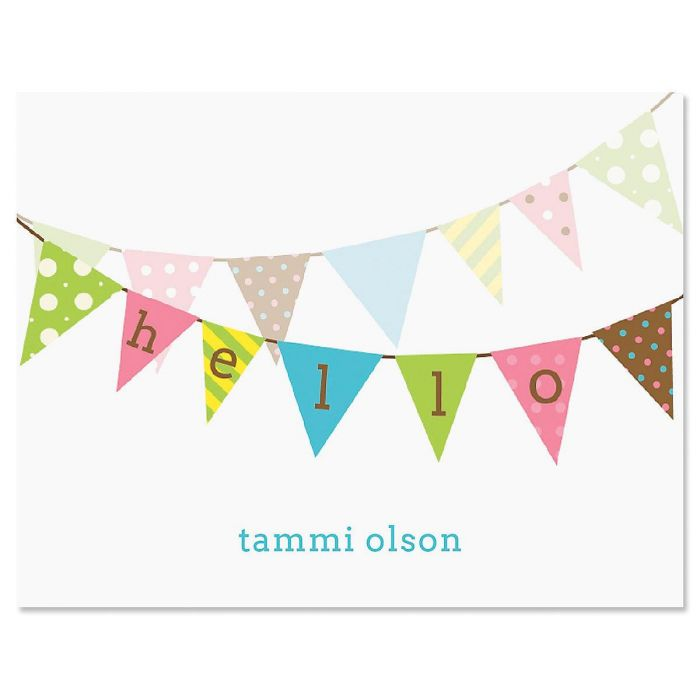 Banner Greetings Note Cards