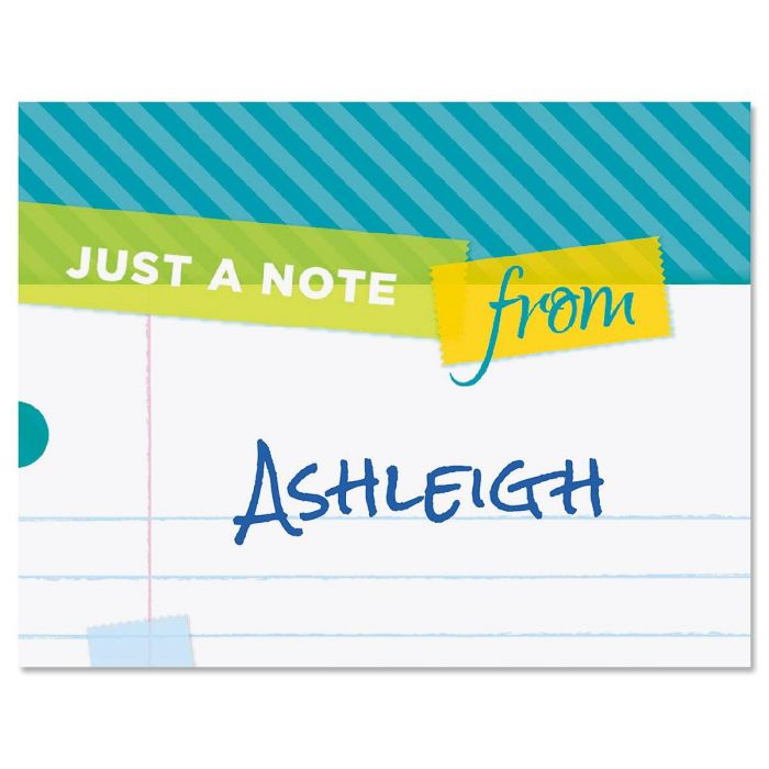 Tape A Note Custom Note Cards