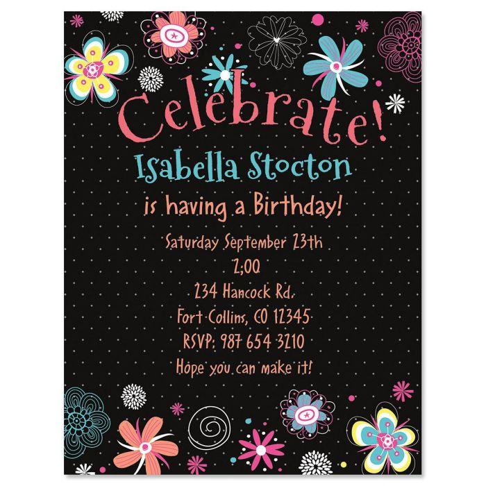 Vibrant Invitation