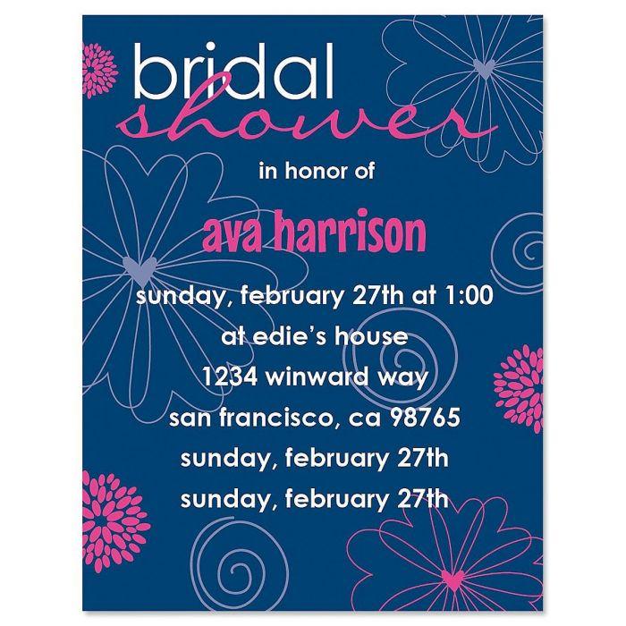 Charming Bride Invitation