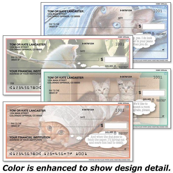 Cattitudes Personal Checks