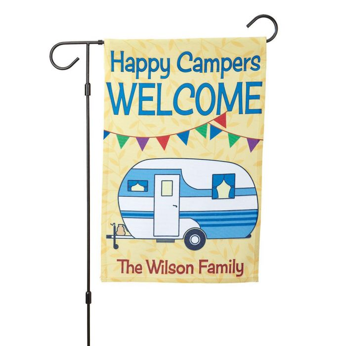 RV Personalized Garden Flag