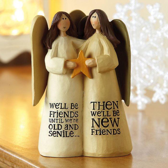 We'll Be Friends Angels Figurine