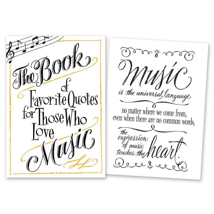 Book of Favorite Musical Quotes